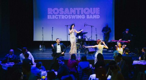 Rosantique and Band Live Show – Il Grande Blu – The Fan Events